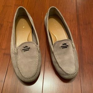 Coach Gray Loafers